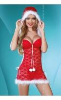 Santa Lady kostium 2-częściowy LC 90163