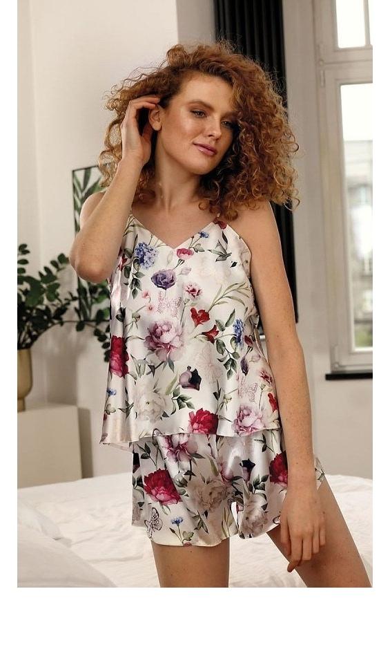 Piżama damska DKaren Flowers