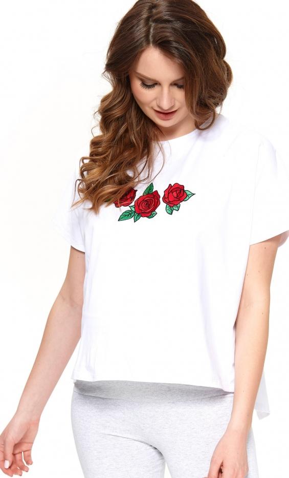Koszulka oversize dla przyszłych mam