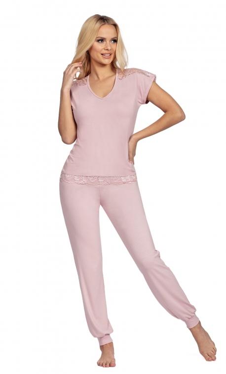 Piżama damska Donna Lena Powder Pink