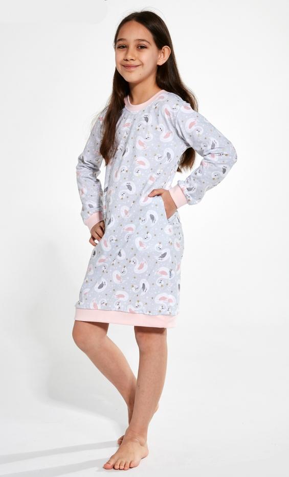 Koszula Cornette Kids Girl 396/137 Swan 3 dł/r 86-128