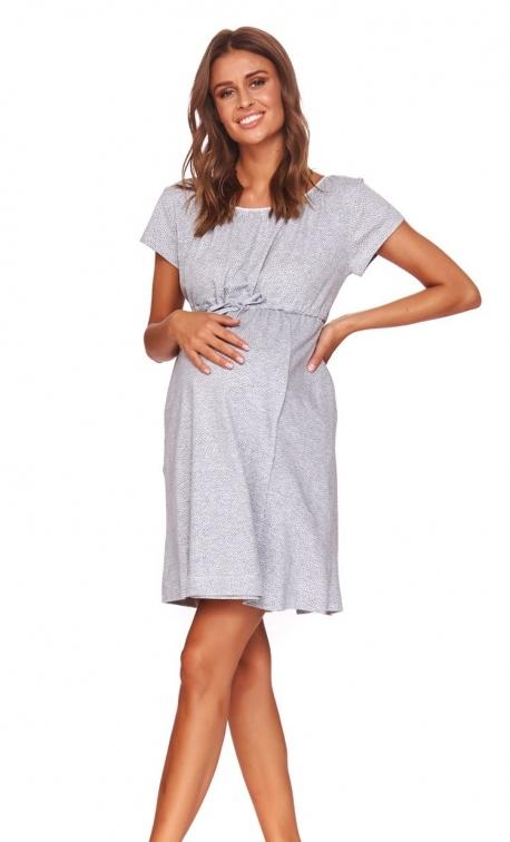 Koszula nocna Doctor Nap TCB.4114.GREY_MELANGE