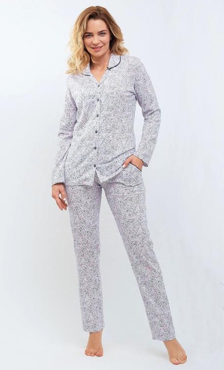 Piżama damska Cana 530 dł/r 3XL
