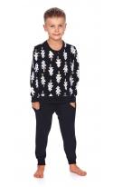 Dziecięca piżamka w choinki