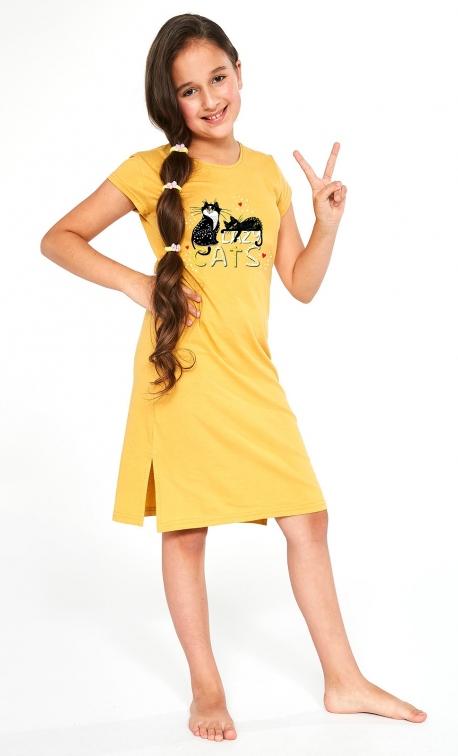 Koszula Cornette Kids Girl 493/90 Cats 2 kr/r 86-128