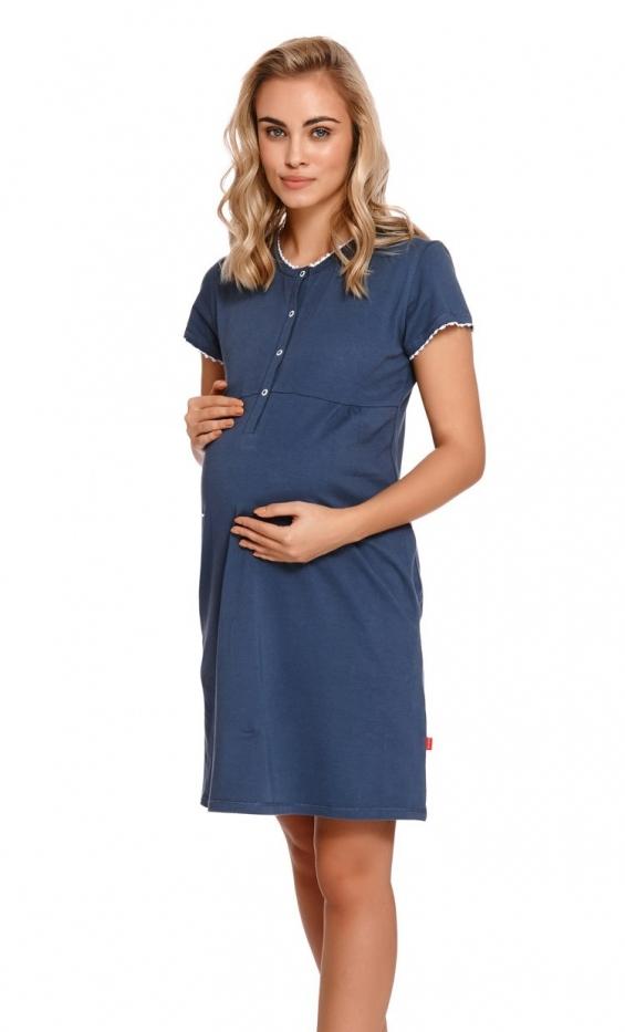Koszula nocna Doctor Nap TM.4221.DEEP_BLUE
