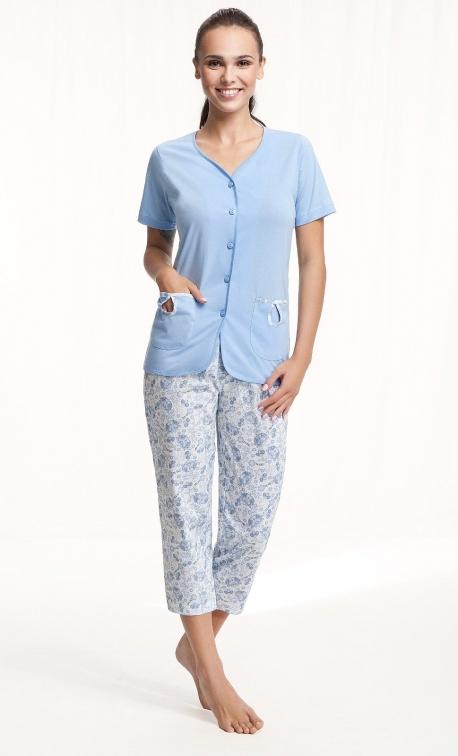 Piżama damska Luna 632 kr/r 2XL
