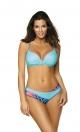 Kostium kąpielowy Yasmine Bright Cyjan M-493 (4)
