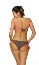 Kostium kąpielowy Shirley Dark Taupe-Rosella M-455 (3)