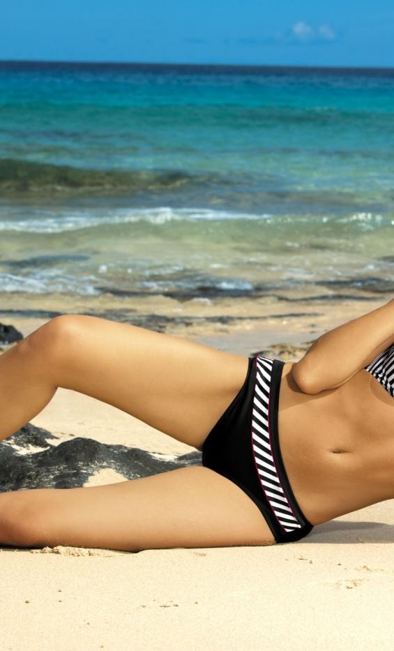 Kostium kąpielowy Brooke Nero M-225 Czarny (15)