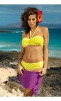 Kostium kąpielowy Virginia Brazzilian M-206 Żółty (28)
