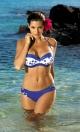 Kostium kąpielowy Morgan Oltremare M-232 Niebieski (92)