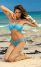 Kostium kąpielowy Emily Baia M-217 Błękitny (142)