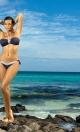 Kostium kąpielowy Emily Uniform M-217 Granatowy (144)