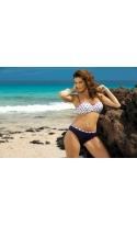 Kostium kąpielowy Kylie Blu Scuro M-227 Granatowy (178)