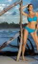 Kostium kąpielowy Edith Holiday M-255 Niebieski (111)