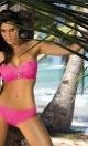 Kostium kąpielowy Edith Rosa Shocking M-255 Różowy (109)