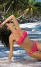 Kostium kąpielowy Kimberly Icelolly M-246 Koralowy (149)