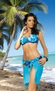 Kostium kąpielowy Kirsten Blu Scuro M-268 Granatowy (201)
