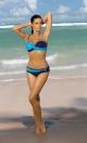 Kostium kąpielowy Liliana Atene-Mare M-259 Granatowo-niebieski (23)