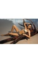 Kostium kąpielowy Liliana Jungle-Light Skin M-259 Popielato-kawowy (22)
