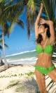 Kostium kąpielowy Salma Erba M-254 Zielony (65)