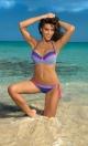 Kostium kąpielowy Wendy Oltremare M-293 chabrowo-różowy (69)