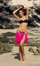 Kostium kąpielowy Dolores Nero-Popstar M-307 czarno-biało-różowy (174)