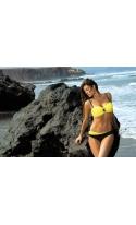 Kostium kąpielowy Cornelia Tweety-Nero M-321 żółtoczarny (9)
