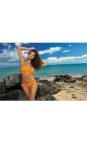 Kostium kąpielowy Shanon Agrumi M-323 pomarańczowy (37)