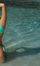 Kostium kąpielowy Roxie Cubano-Seafoam Glow M-326 mięta z czekoladą (102)
