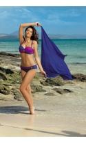 Kostium kąpielowy Liliana Royal Blue-Memory M-259 Błękit królewski z ciemnoróżowym (13)