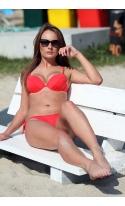 Kostium kąpielowy Jenna M-048B Red Pearl (Czerwony perłowy)