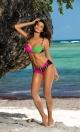 Kostium kąpielowy Tamara Blu Scuro-Rosa Shocking-Blight Green M-399 (4)