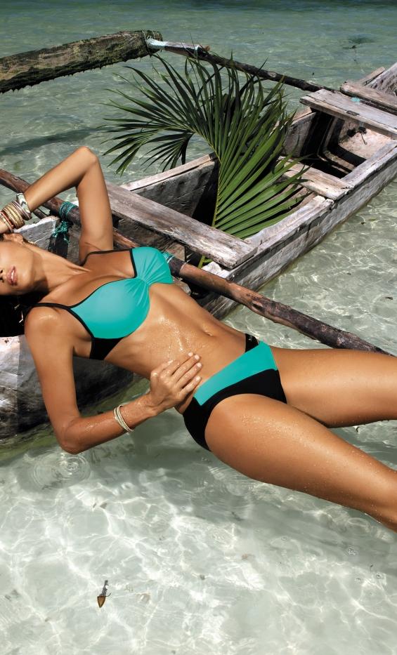 Kostium kąpielowy Jennifer Caraibi-Nero M-408 (3)