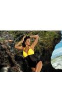 Kostium kąpielowy Priscilla Banana-Nero M-428 (3)