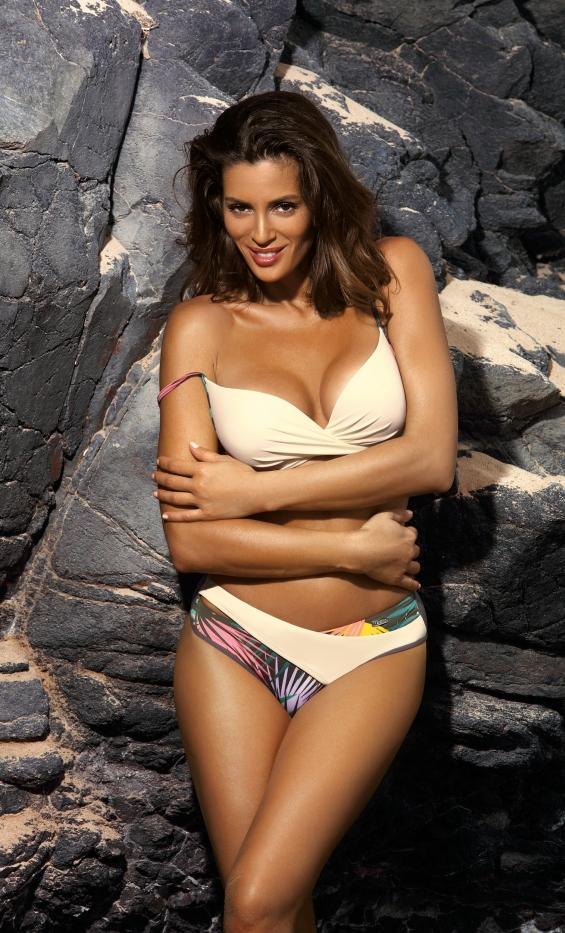 Kostium kąpielowy Yasmine Avorio M-493 (1)