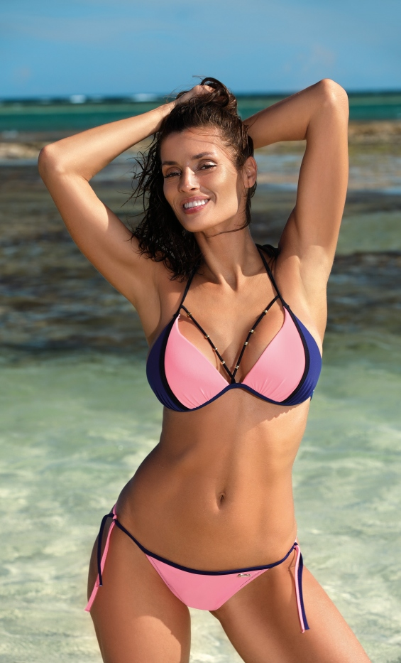Kostium Kąpielowy Lara Origami-Blueberry M-511 (6)