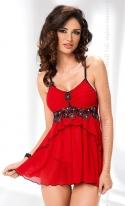 Koszulka nocna Irall Mirabelle Czerwona