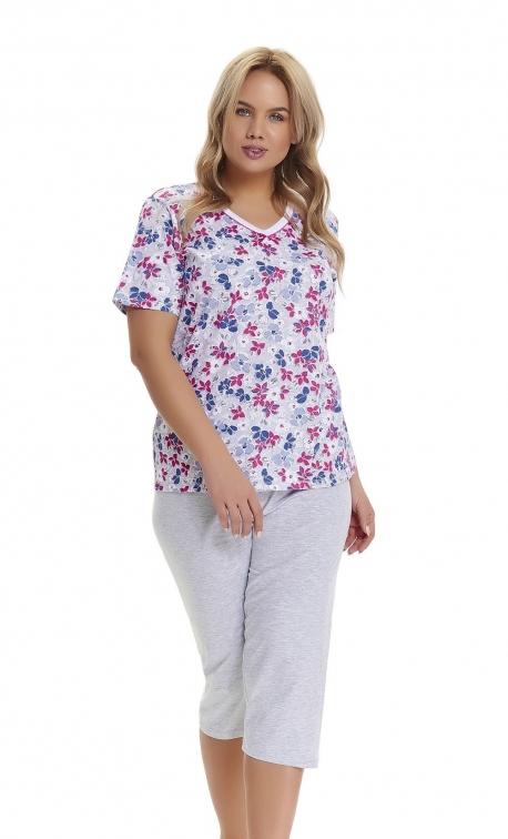 Piżama damska Doctor Nap PB.9462 ROYAL BLUE