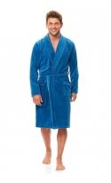 Szlafrok damski Doctor Nap SMS.6063 Blue