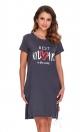 Koszulka nocna Doctor Nap TCB.9900.GRAPHITE