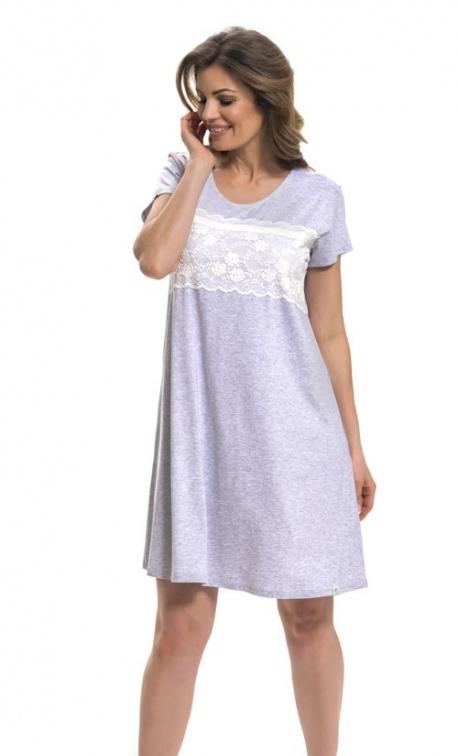 Koszula nocna Doctor Nap TW.9233 Grey melange