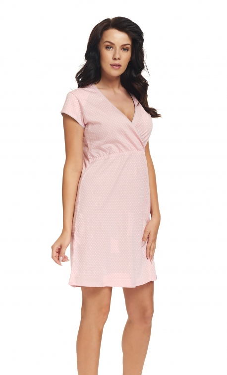 Koszula nocna Doctor Nap TCB.9394 Sweet Pink
