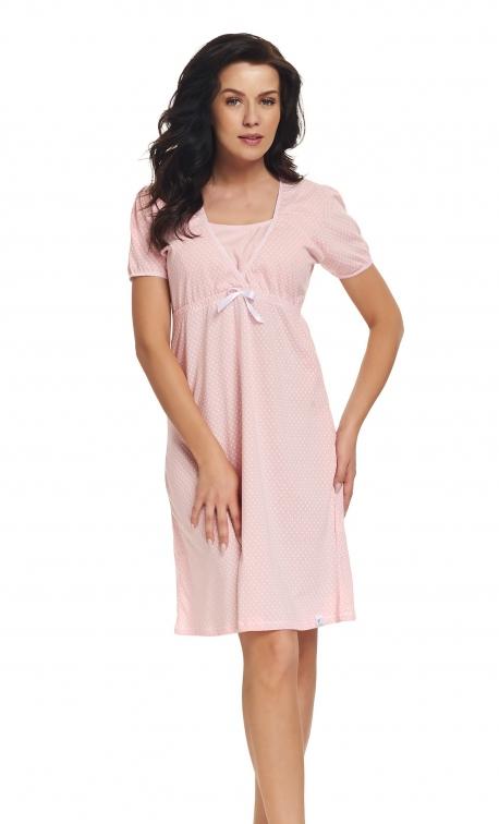 Koszula nocna Doctor Nap TCB.9393 Sweet Pink