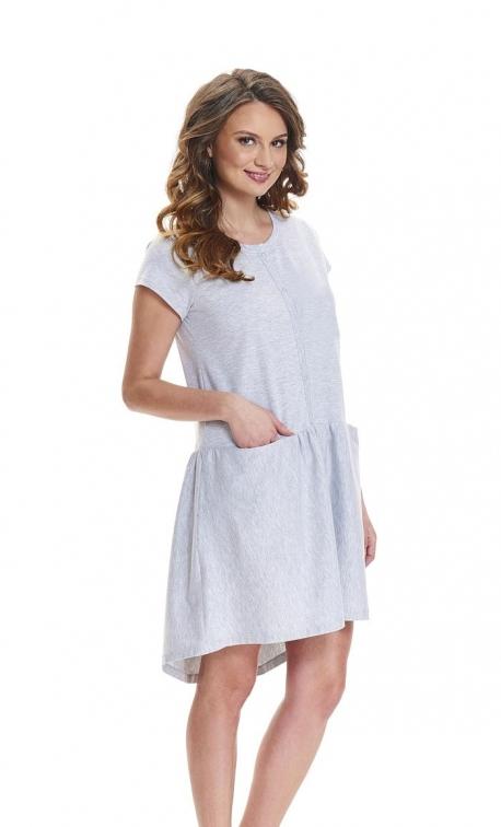 Koszula nocna Doctor Nap TCB.9445 Grey Melange