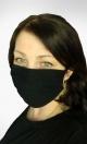Bawełniana maseczka ochronna Czarna